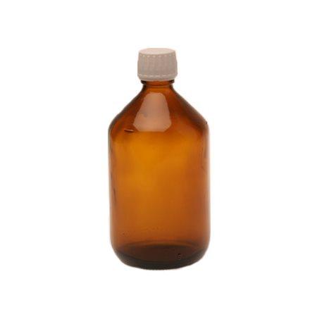 Flaske m. låg og hældering (500 ml)