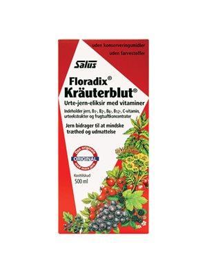 Floradix Kräuterblut  Urte-jern mikstur Salus