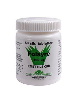 Folsyre 400 µg B9
