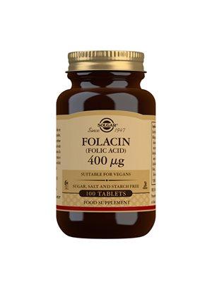 Folsyre 400 mcg  (Folacin)