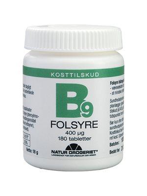 Folsyre Økonomikøb 400 µg
