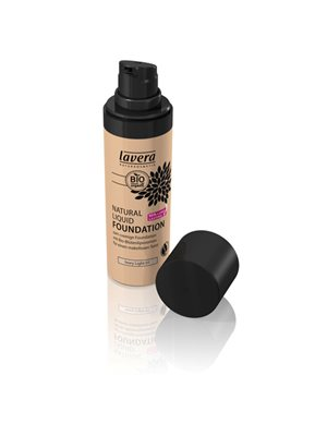 Foundation 01 Ivory Light  Natural Liquid Lavera Trend