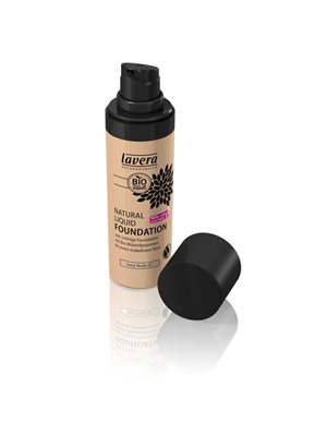 Foundation 02 Ivory Nude  Natural Liquid Lavera Trend