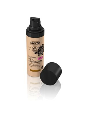 Foundation 06 Almond Caramel Natural Liquid Lavera Trend