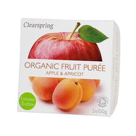 Frugtpuré abrikos, æble Ø
