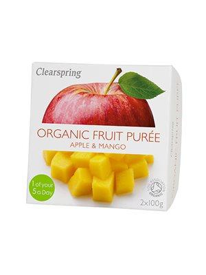 Frugtpuré æble, mango Ø