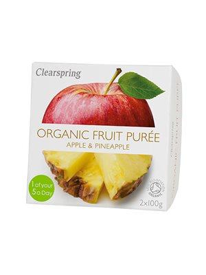 Frugtpuré ananas, æble Ø