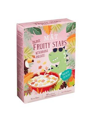 Fruity stars m. banan & dadler Ø