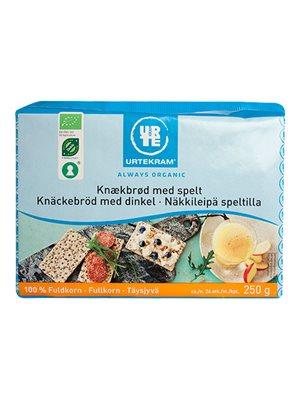 Fuldkornsknækbrød m. spelt Ø