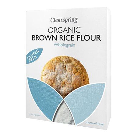 Fuldkornsrismel af brune ris Ø