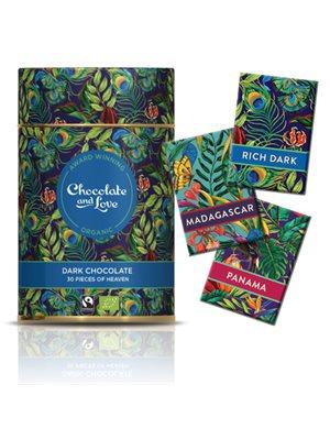 Gavedåse Chokolade Rich Dark Ø 30 stk. 3 var.Chocolate & Love