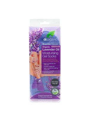 Gel Socks Moisturising 2 stk. Lavender Oil Dr. Organic