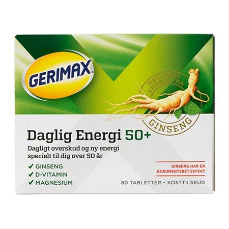 Gerimax Dalig Energi 50+