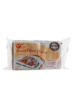GG SuperFiber Havre Klidbrød