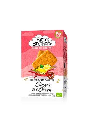 Ginger & Lemon cookies Ø Farm Brothers