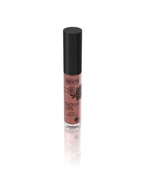 Glossy Lips Hazel Nude 12 Lavera Trend