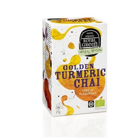 Golden Turmeric Chai te Ø