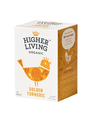 Golden Turmeric te Ø Higher Living