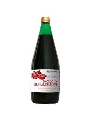 Granatæblesaft Ø u. tilsat  sukker