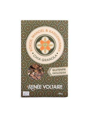 Granola Chia Ø - Kokos, Mandel og Kardemomme, Glutenfri - Renée Voltaire