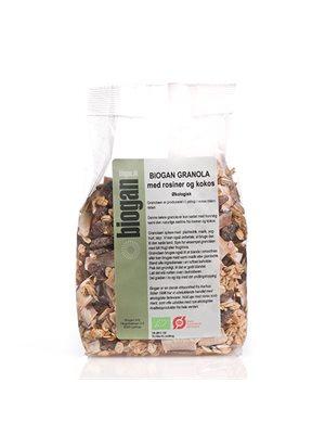 Granola m. rosiner & kokos Ø