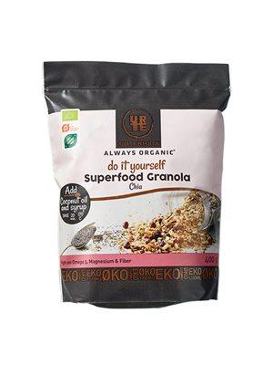 Granola Superfood m. chia Ø Do it Yourself