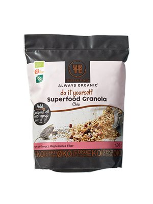 Granola Superfood m. chia Ø Do it Yourself