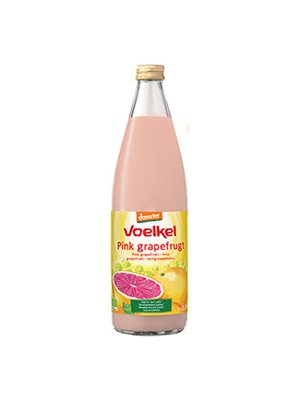 Grapefrugtsaft pink demeter Ø Voelkel