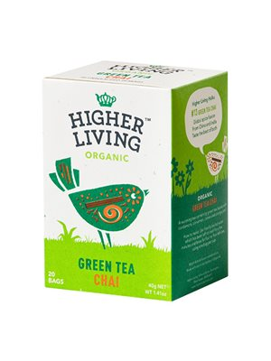 Green Tea Chai Ø Higher Living