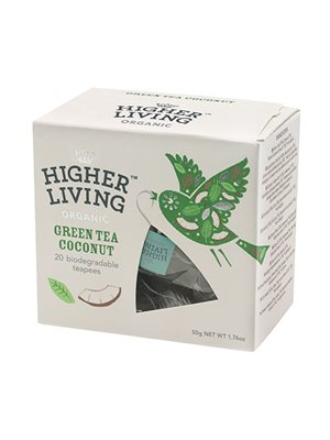 Green Tea coconut Ø  Higher Living