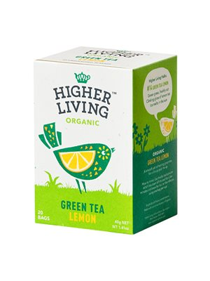 Green Tea Lemon Ø  Higher Living