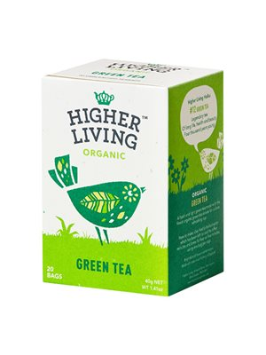 Green Tea Ø Higher Living
