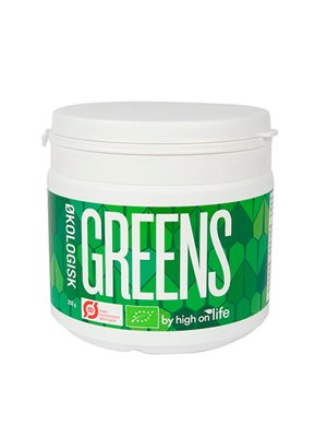 Greens by High on Life Ø havregræs,chlorella,kamutgræs,spirulina