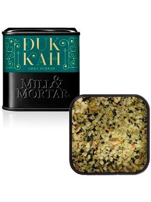 Grøn Dukkah mandler Ø m. grøn  pistacie Mill & Mortar