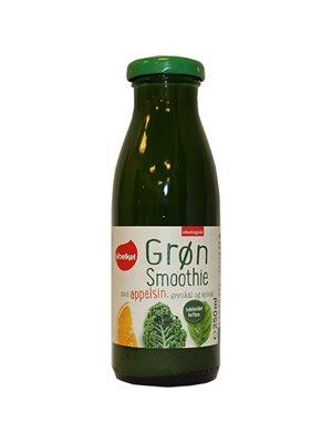 Grøn Smoothie Appelsin,grønkål & spinat Ø