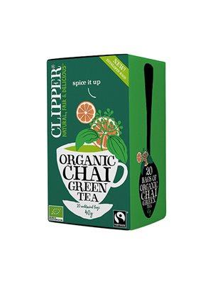Grøn Te Chai Ø Clipper