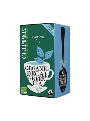 Grøn Te Koffeinfri Ø Clipper