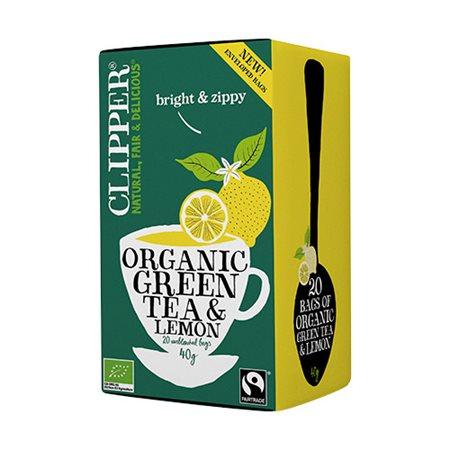Grøn Te m. Citron Ø Clipper