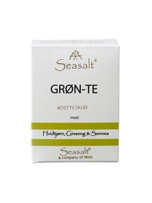 Grøn te m. hvidtjørn,  ginseng & sennes