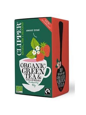 Grøn Te m. Jordbær Ø Clipper