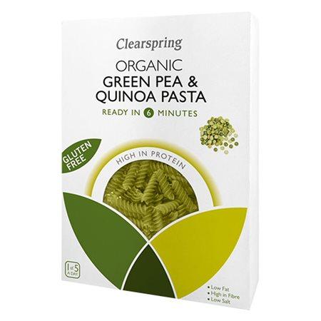 Grønne ærter & quinoa fusilliØ