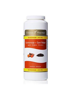 Gurkemeje & Sort Peber Fitness Pharma