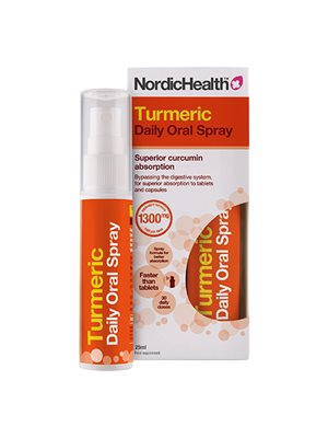 Gurkemeje spray Nordic Health