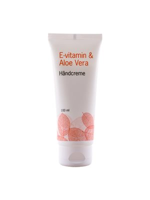 Håndcreme m. E-vitamin & aloe vera