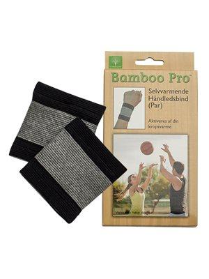 Håndledsbind, Str. One size selvvarmende Bamboo Pro