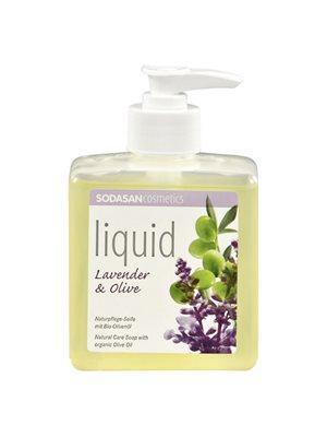 Håndsæbe flydende Lavendel  Sodasan