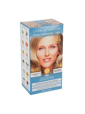Hårfarve 8N Light Blonde  Tints of Nature