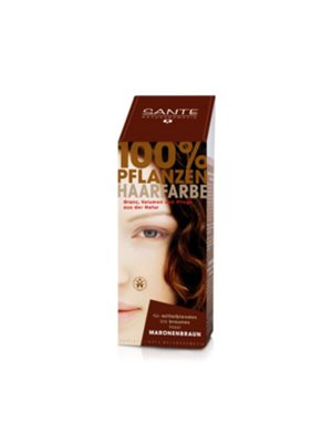 Hårfarve chestnut brown Sante Pure Herbal Hair Colors Sante