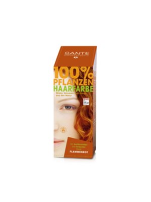 Hårfarve flame red Sante Pure Herbal Hair Colors Sante