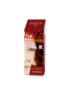 Hårfarve mahogany red Sante Pure Herbal Hair Colors Sante